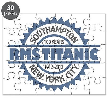 Titanic Sinking Anniversary Puzzle