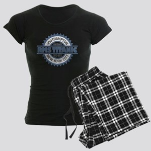 Titanic Sinking Anniversary Women's Dark Pajamas
