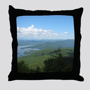 Tong. Mtn Range Throw Pillow
