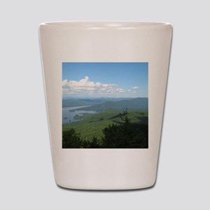 Tong. Mtn Range Shot Glass