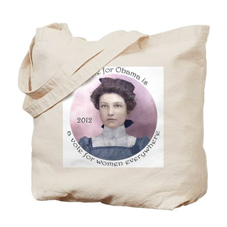 Obama for Women: Tote Bag