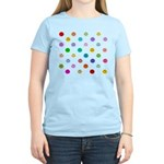 Rainbow Smiley Pattern Women's Light T-Shirt