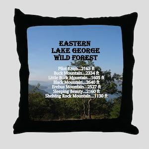 Eastern LG summits Throw Pillow