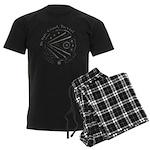Celtic Eye Coin Men's Dark Pajamas