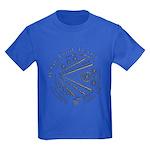 Celtic Eye Coin Kids Dark T-Shirt