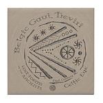 Celtic Eye Coin Tile Coaster
