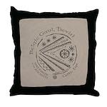 Celtic Eye Coin Throw Pillow