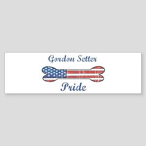 Gordon Setter Pride Bumper Sticker