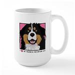 I Love My Bernese Large Mug