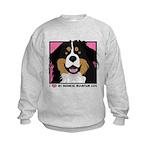 I Love My Bernese Kids Sweatshirt