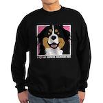 I Love My Bernese Sweatshirt (dark)