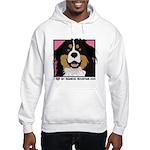 I Love My Bernese Hooded Sweatshirt