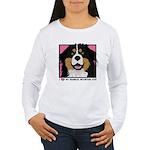 I Love My Bernese Women's Long Sleeve T-Shirt