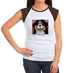 I Love My Bernese Women's Cap Sleeve T-Shirt