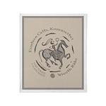Celtic Wreath Rider Coin Throw Blanket