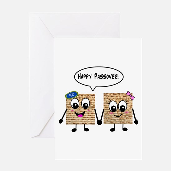 Happy Passover Matzot Greeting Card