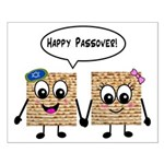 Happy Passover Matzot Small Poster