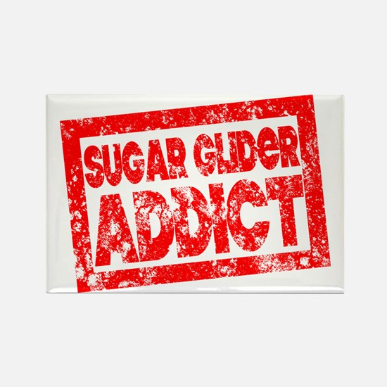 Sugar Glider ADDICT Rectangle Magnet