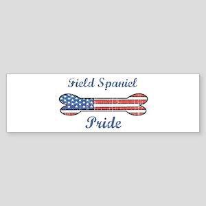 Field Spaniel Pride Bumper Sticker