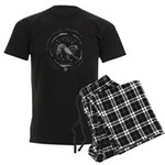 Celtic Lion Coin Men's Dark Pajamas