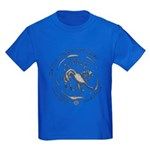 Celtic Lion Coin Kids Dark T-Shirt