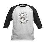 Celtic Lion Coin Kids Baseball Jersey
