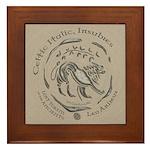 Celtic Lion Coin Framed Tile