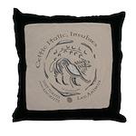 Celtic Lion Coin Throw Pillow
