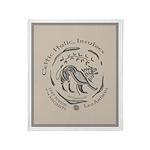 Celtic Lion Coin Throw Blanket