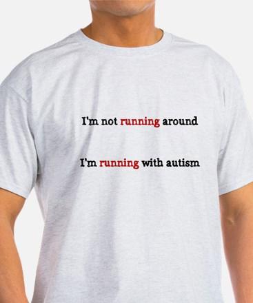Running with Autism T-Shirt