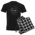 Celtic Victory Chariot Coin Men's Dark Pajamas