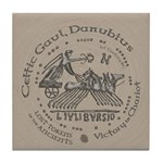 Celtic Victory Chariot Coin Tile Coaster