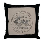 Celtic Victory Chariot Coin Throw Pillow