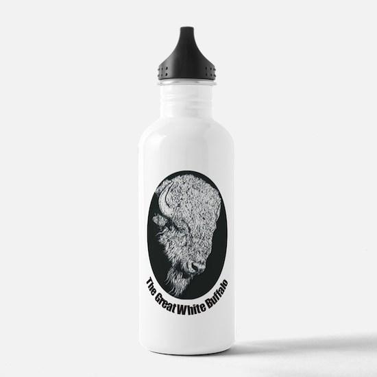 Great White Buffalo Water Bottle