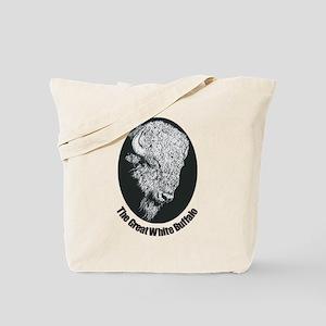 Great White Buffalo Tote Bag