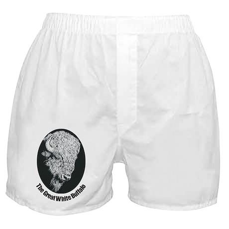 Great White Buffalo Boxer Shorts