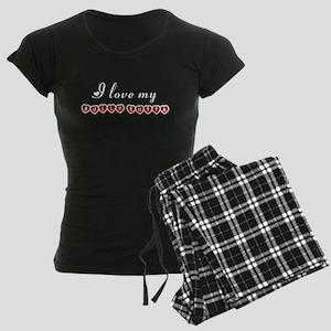 I love my Bully Kutta Women's Dark Pajamas