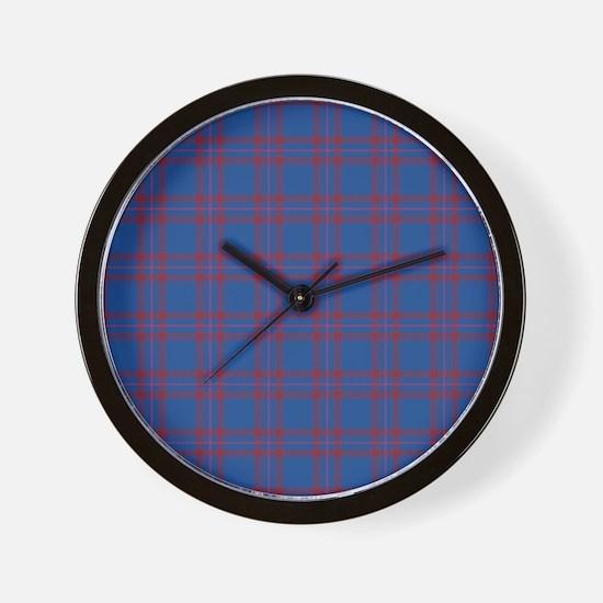 Tartan - Elliot Wall Clock