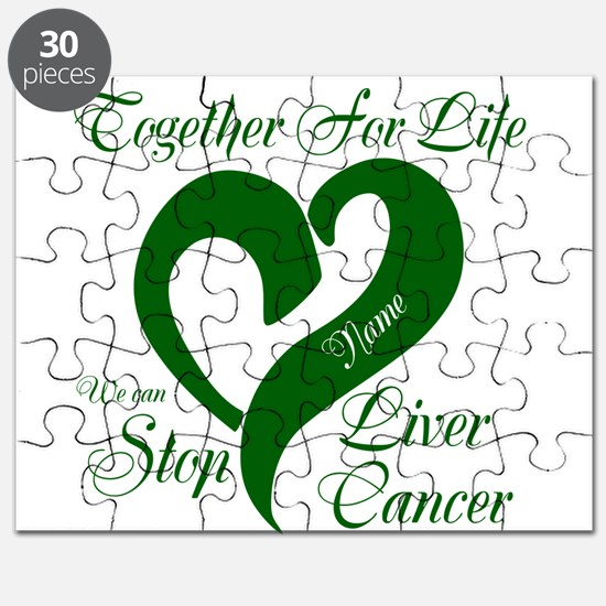 Personalize Stop Liver Cancer Puzzle