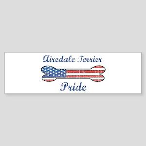 Airedale Terrier Pride Bumper Sticker