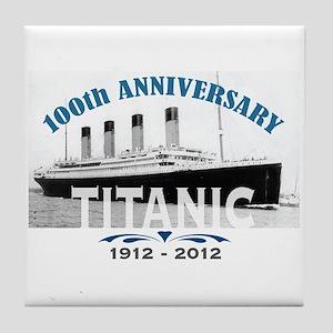 Titanic Sinking Anniversary Tile Coaster