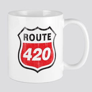 Vintage styled distressed 420 Mug