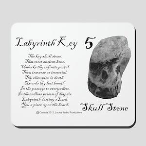 Skull Stone Mousepad