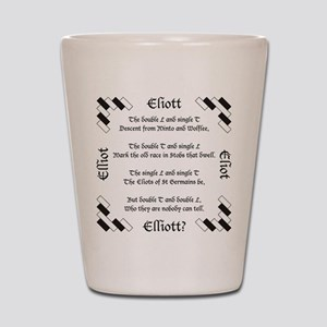 Elliot Spellings Shot Glass