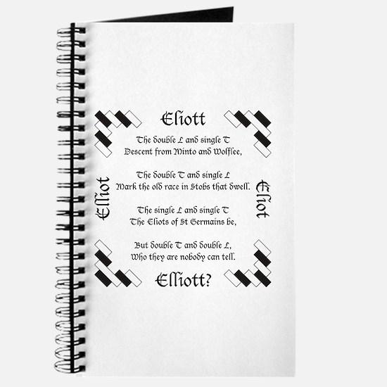 Elliot Spellings Journal