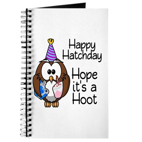Happy Hatchday Journal