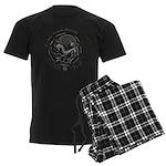 Celtic Epona Coin Men's Dark Pajamas