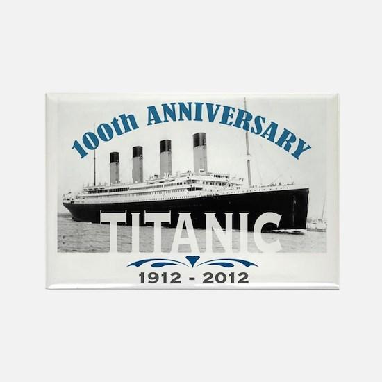 Titanic Sinking Anniversary Rectangle Magnet