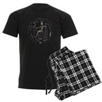 Celtic King Coin Men's Dark Pajamas
