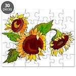 Sunflower Garden Puzzle